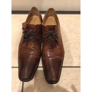 冠婚葬祭おしゃれアンティークシューズホストビジネスシューズスーツリーガル(ローファー/革靴)