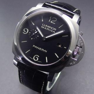 パネライ(PANERAI)の2015年OH済み 美品 パネライ PAM00312 ルミノールマリーナ (腕時計(アナログ))
