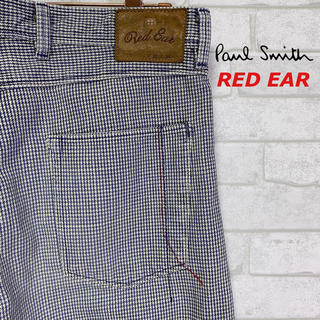 ポールスミス(Paul Smith)の【RED EAR】レッドイヤー ポールスミス 千鳥柄 デニムパンツ/W32(デニム/ジーンズ)