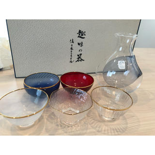 トウヨウササキガラス(東洋佐々木ガラス)の佐々木クリスタル 冷酒杯セット(アルコールグッズ)