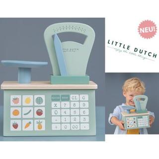イケア(IKEA)のlittle Dutch リトルダッチ  木製キッチンスケール おままごと(知育玩具)