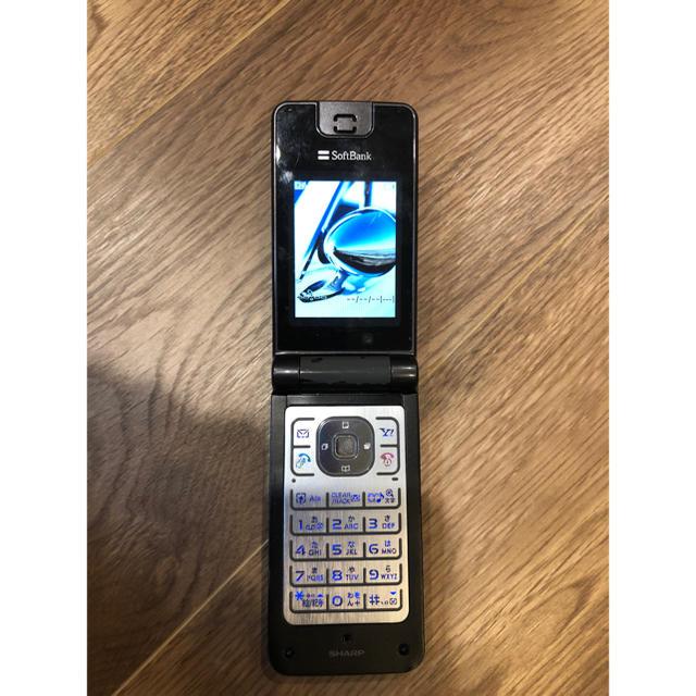 AQUOS(アクオス)のジャンク扱い 動作品 705SH ソフトバンク ガラケー スマホ/家電/カメラのスマートフォン/携帯電話(携帯電話本体)の商品写真