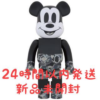 BE@RBRICK bape Mickey ベイプ ミッキーマウス 1000%(その他)