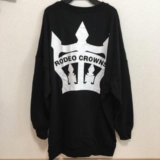 ロデオクラウンズワイドボウル(RODEO CROWNS WIDE BOWL)のロデオクラウンズ ビッグクラウン ワンピース レギンスセット(トレーナー/スウェット)