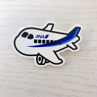 ANA(全日本空輸) - 非売品 ANA飛行機バッチ