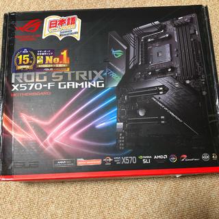 エイスース(ASUS)の【美品】x570-F GAMING マザーボード(PCパーツ)