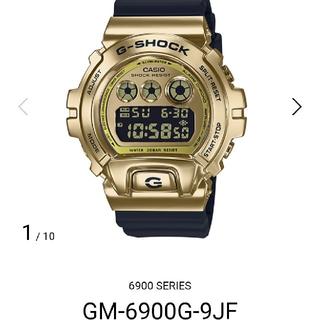 ジーショック(G-SHOCK)の新品 国内正規品 送料無料 GM-6900G-9JF ゴールド g-shock(腕時計(デジタル))