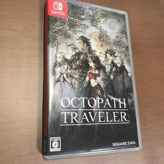 ニンテンドウ(任天堂)のOCTOPATH TRAVELER(オクトパストラベラー) Switch 中古(家庭用ゲームソフト)