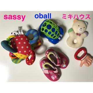 ミキハウス(mikihouse)の知育玩具 靴 5点セット(知育玩具)