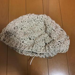 マウジー(moussy)のMOUSSY マウジー ハンチング ベレー帽 ベージュ(ハンチング/ベレー帽)