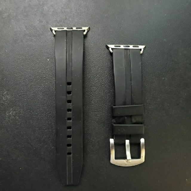 Apple Watch(アップルウォッチ)のアップルウォッチ バンド メンズの時計(腕時計(デジタル))の商品写真