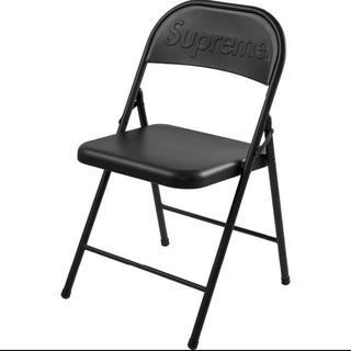 シュプリーム(Supreme)のMetal Folding Chair 黒 ブラック black 椅子 チェア(折り畳みイス)