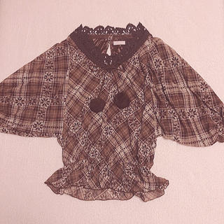 リズリサ(LIZ LISA)のLIZLISA トップス(シャツ/ブラウス(半袖/袖なし))