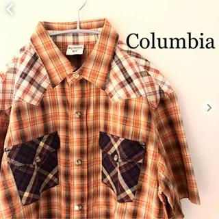 コロンビア(Columbia)のコロンビア ウエスタンシャツ 半袖 Mサイズ Columbia(シャツ)