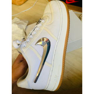 ナイキ(NIKE)のnike air force 1 low travis scott 1st(スニーカー)