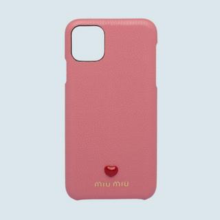 ミュウミュウ(miumiu)の【国内完売!】miu miu iphoneケース 11 pro max(iPhoneケース)