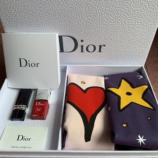 ディオール(Dior)の【激レア♡非売品】ディオール 口紅・マニュキュア・巾着(ノベルティグッズ)