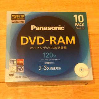 パナソニック(Panasonic)のPanasonic DVD-RAM デジタル録画対応 LM-AF120LJ10(その他)