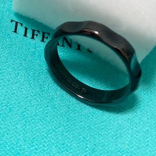 ティファニー(Tiffany & Co.)のお値下げTiffany  パロマグルーブチタンリング11号(リング(指輪))
