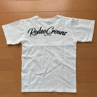 ロデオクラウンズワイドボウル(RODEO CROWNS WIDE BOWL)のキッズ RODEO CROWNS ロゴビッグカットトップス 半袖Tシャツ(Tシャツ/カットソー)