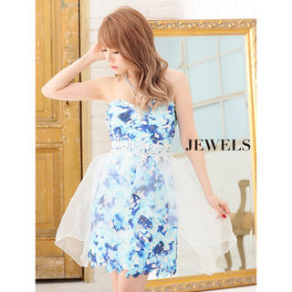 ジュエルズ(JEWELS)のjewels 大人気で再入荷❗️ ひらひら可愛い💓ベアドレス(ミニドレス)