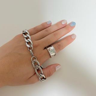 シルバーブレスレット 指輪(リング(指輪))
