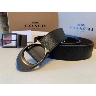 COACH - COACH 3点セットペブルレザーリバーシブル/フリーサイズベルト