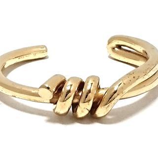 セリーヌ(celine)のセリーヌ バングル - 金属素材 ゴールド(ブレスレット/バングル)