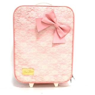 リズリサ(LIZ LISA)のリズリサ キャリーバッグ サテン×合皮(スーツケース/キャリーバッグ)