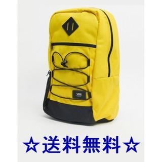 ヴァンズ(VANS)の★新品 バンズ 大容量 バックパック リュック 黄色★(バッグパック/リュック)