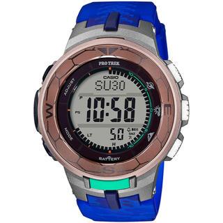 カシオ(CASIO)のカシオ プロトレック コラボ 腕時計 PRG-330CC-5JR ウミガメ(腕時計(デジタル))
