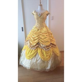 ディズニー(Disney)の美女と野獣 ベル 黄色ドレス(ロングドレス)
