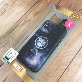 マーベル(MARVEL)のMARVEL ブラックパンサー iPhoneX/Xs 兼用 スマホケース(iPhoneケース)
