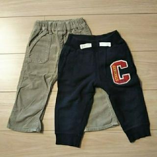 ムジルシリョウヒン(MUJI (無印良品))の無印良品 西松屋 チェロキー 長ズボン セット 80(パンツ)