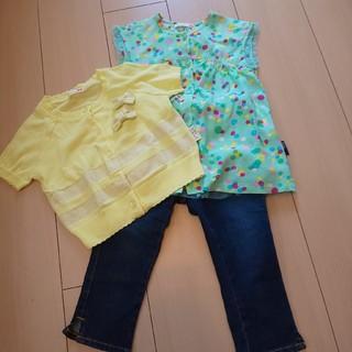 ハッカキッズ(hakka kids)のhakka-kids☆knit-planer☆Set(110)(Tシャツ/カットソー)