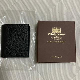 ホワイトハウスコックス(WHITEHOUSE COX)の即完売 LOFTMAN別注 S3158 Compact Wallet-Black(折り財布)