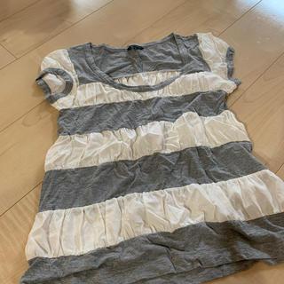 セオリー(theory)のセオリー ボーダーTシャツ(Tシャツ(半袖/袖なし))