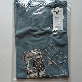 スノーピーク(Snow Peak)のスノーピークTシャツ M (フラットバーナー・ライトブルー)(Tシャツ/カットソー(半袖/袖なし))