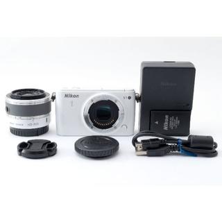 Nikon - Nikon 1 S1 ミラーレス一眼レフ ホワイト 10-30mm レンズキット