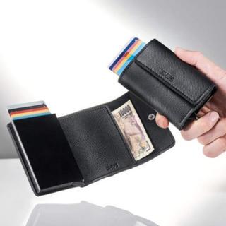 シップス(SHIPS)のモノマスター付録シップス高機能ミニ財布カードケース(折り財布)