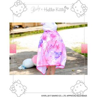レディー(Rady)のrady♡フード付きバスタオル(タオル/バス用品)