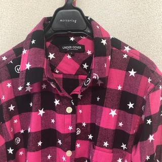 アンダーカバー(UNDERCOVER)の【未使用】UNDER COVER ワイシャツ チェック(シャツ)