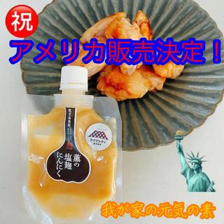 薫の塩麹にんにくアメリカンサイズ500g 1本(調味料)