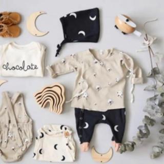 キャラメルベビー&チャイルド(Caramel baby&child )の新品 organic zoo コットンフラワー ラップトップス 6-12M(カーディガン/ボレロ)