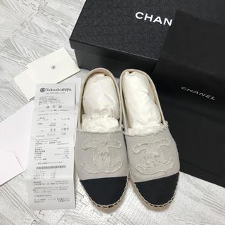 CHANEL - CHANEL スリッポン 37 高島屋購入