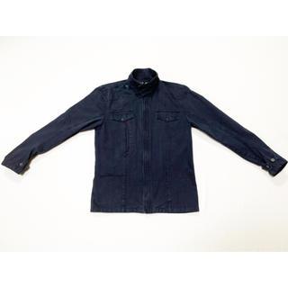 ヴィスヴィム(VISVIM)の20AW 硫化染めヘリンボーンミリタリーシャツジャケット(ミリタリージャケット)