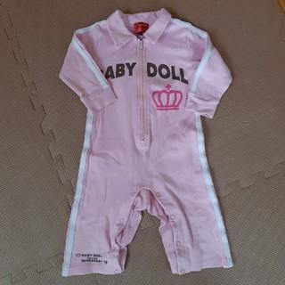 【babydoll】ロンパース つなぎ ピンク (ロンパース)