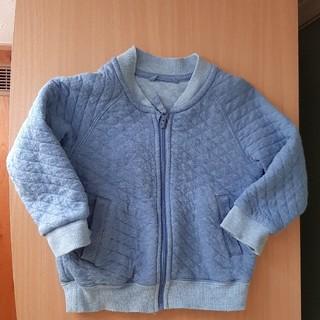 ユニクロ(UNIQLO)の【ユニクロ】ベビー アウター 80 ブルー(ジャケット/コート)