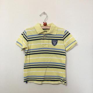 ギャップキッズ(GAP Kids)のオシュコシュ★OSHKOSH★黄色ボーダーポロシャツ (90) 綿100%(Tシャツ/カットソー)