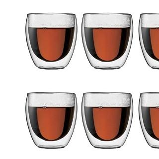 ボダム(bodum)のボダム 5個 PAVINAダブルウォールグラス250ml  北欧 デンマーク(グラス/カップ)
